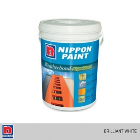 Nippon Weatherbond Algae Guard Brilliant White (Exterior Use)