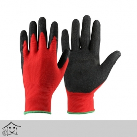 Rubber Coated Normal Gloves