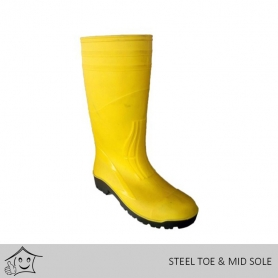 Imported Gumboot (Steel Toe & Mid Sole)