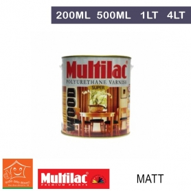 Multilac Polyurethane Varnish - Matt