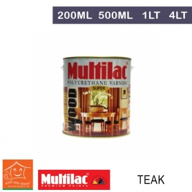 Multilac Polyurethane Varnish Teak