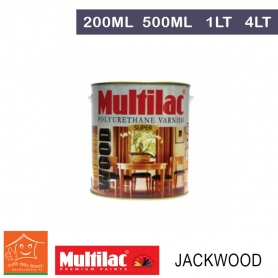Multilac Polyurethane Varnish Jackwood