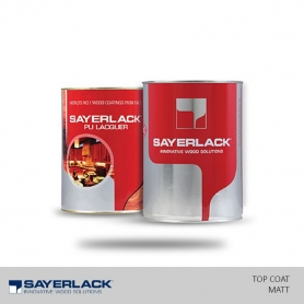Sayerlack PU Top Coat Clear - Matt