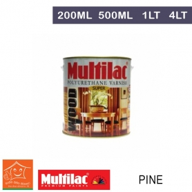 Multilac Polyurethane Varnish Pine